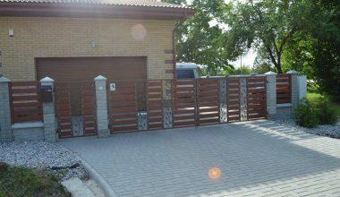 Betoninės tvoros - 4