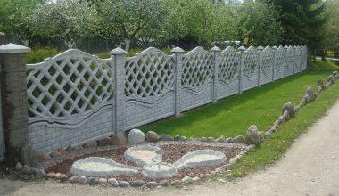 Betoninės tvoros - 42