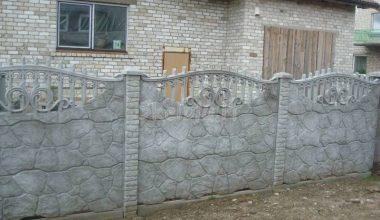 Betoninės tvoros - 51