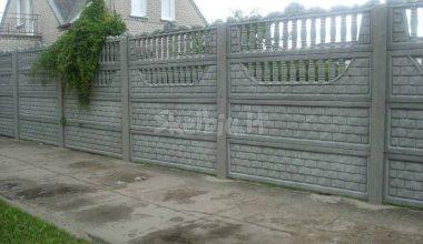 Betoninės tvoros - 65