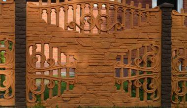 Betoninės tvoros - 87